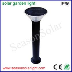 工場照明設備の太陽動力を与えられた屋外の庭LEDの床は5W太陽電池パネルの庭のポール・ライトをつける