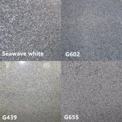 Il materiale da costruzione G654/G603 lucidato/smerigliatrice/fiammeggiato/Bush Hamered bianco/lastre/mattonelle/scale grige/beige/nere/che fiancheggiano/controsoffitti/cubi/bordi/pietre per lastricati del granito