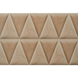 Foshan Factory Triangle Pattern Wall Decoration Ceramic Border Tile