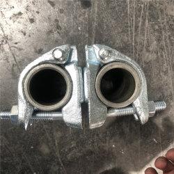 Acoplador de Andamios Andamios caída de la abrazadera de forjar en74 BS1139 Adaptador giratorio