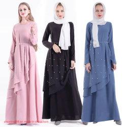 Maxi Kleding voor Kleding van Jalabiya van de Toga van Abaya Doubai van de Toga's van de Avond van de Manier van de Dames van Vrouwen de Moslim Buitensporige Islamitische Lange