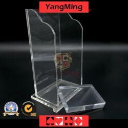プラスチック8デッキのトランプの不用物ホールダー/ボックスカジノの火かき棒表ゲームの専用アクセサリYm-PS01