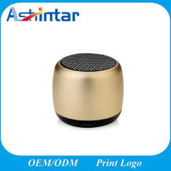 MP3-Player Handfree mit Mic-Lautsprecher-Minimetalllautsprecher beweglichem Bluetooth Lautsprecher