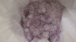 Eisenammonium-Sulfat, Dodekahydrat, d-Typ, kristallisierte