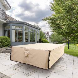방수 야외 식탁 및 의자 범용 가구 덮개