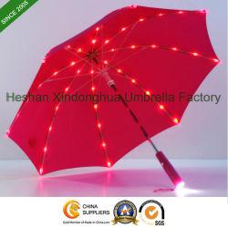 De nieuwe Paraplu van het Jonge geitje van het Punt Innovatieve Rechte met Volledige Zonne LEIDENE Lignts (leiden-0019K)