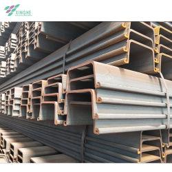 Marca Jinxi Tablestacas de acero laminado en caliente a 400*125mm 400*170mm con precios baratos