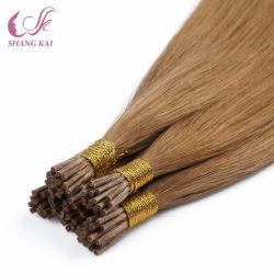 El cabello humano Hair Extension Pre-Bonded queratina cabello virgen de punta ME
