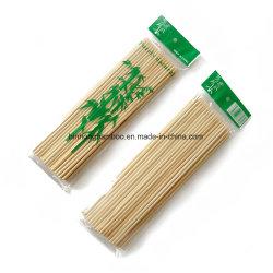 Eco-Friendly espeto de bambu redonda descartáveis