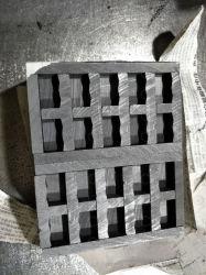 Le matériau de prédilection pour la fabrication de moules est moule de graphite