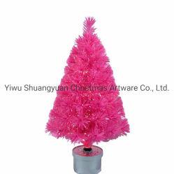 Mini colorido árbol de Navidad Pequeño árbol de Navidad Árbol de Navidad de fibra óptica