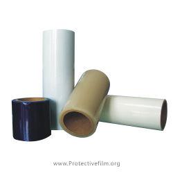 強い粘着性のPEの保護フィルムのカーペットの保護建築材料のフィルム