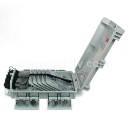 Panel de fibra óptica FTTH de 8 puertos y terminales de fibra óptica de la caja de empalmes