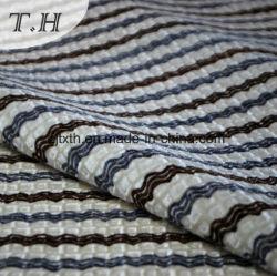 100% Poly textil hogar con la impresión flock tejido Material sofá
