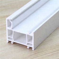 Het witte Frame van het Profiel van pvc/Plastic Profiel Grondstoffen/UPVC