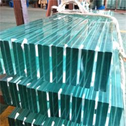 決して壊れた曲げられた安全低いE 30mm厚いSgp明確な緩和された価格薄板にされたガラス