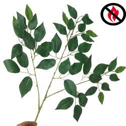 고품질 인공적인 나무 가지는 판매를 위한 내화성이 있는 인공적인 잎을 도매한다