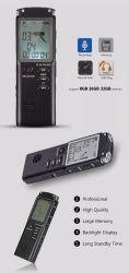 Registreertoestel van het Gesprek van de Dictafoon van de Speler van de Microfoon van het Registreertoestel van de stem het Ingebouwde MP3 Digitale Audio met Var/Vor