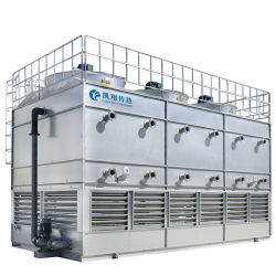 Эффективный Испарительный Конденсатор Градирни Nh3 / Ammonia / R717 / Coolant для Охлаждающей Промышленности с Винтовым Воздушным Компрессором