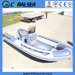 4,2 m/mer/River Lake Fishing/Sport/vitesse/moteur/radeau rigide en fibre de verre/PRF/Rib bateau gonflable/SHIP/canoë Hsf420