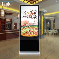 Pedestal de piso de 55 pulgadas LCD Digital Signage de la pantalla de publicidad