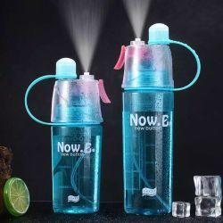 Bouteille d'eau Spray 600ml coupelle en plastique étanches Candy bouteille couleur Salle de Gym Sport Yoga bouilloire de voyage produit potable Portable de Camping