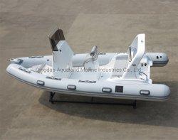 Aqualand 19feet 5,7m rigido gonfiabile velocità pattuglia / Rib Motor Rescue Coach Diving Boat (rib570m)