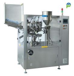 ماكينة تعبئة وإحكام غلق أنبوب بلاستيكي بالكامل تعمل تلقائيًا على تشغيل اللوحة معدات سطح الطاولة المصنوعة من الفولاذ المقاوم للصدأ