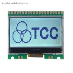 بطاقة رسومات أحادية اللون عامة متوازية تسلسلية عامة ذات لون أحادي 128×64 FSTN وحدة LCD