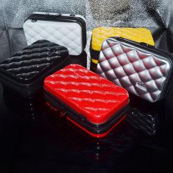 ABS PC 패션 화장품 저장 소형 화장품 휴대용 하드 케이스 상자 비닐 파우치 를 만듭니다