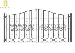 Il ferro antico Gates il cancello comune del ferro su ordinazione per il giardino