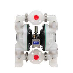 مضخة غشاء PTFE الهوائية 1 بوصة للحمض والقلوي القويين مضخة هوائية مزدوجة الغشاء