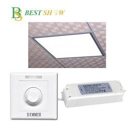 595x595мм 600X600мм 605х605мм светодиодный индикатор с регулируемой яркостью подсветки панели 36W 40W 48W 50W