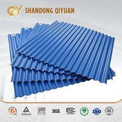 De plástico hueco lleno de color teja de UPVC PVC galvanizado calibre 20 Gi PPGI corrugado acero prebarnizado con recubrimiento de color del techo de metal Precio de la hoja para almacén