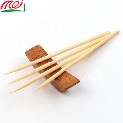 Écologique 5.0*15cm Bâton bambou ronde pour le coton Candy