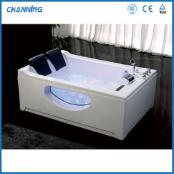 Channing moderna casa de banho banheira de hidromassagem jacuzzi whirlpool spa banheira de hidromassagem (QT-287)