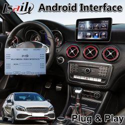 Percorso Android di GPS dell'automobile per il un-Codice categoria W176 di Mercedes-Benz sviluppato nel collegamento dello specchio di WiFi