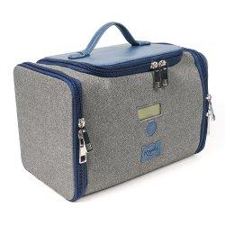 Sacchetto UV-C portatile dello sterilizzatore del LED del pulitore di memoria del sacchetto LED del sacchetto UV pieghevole di disinfezione per i tovaglioli della bottiglia di alimentazione della vigilanza del telefono