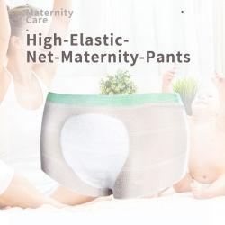 Biancheria intima Lying-in incinta a gettare delle donne per la fissazione dei pannolini di professione d'infermiera