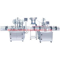 Direktverkauf Vollautomatische 4-Köpfe-Flüssigflasche Waschmittel Füllung Versiegelungsmaschine