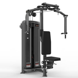 RealLeadiator معدات النادي الرياضي Commercial Pec يطير/آلة بناء الجسم الخلفي تمارين رياضية قوية جديدة معدات اللياقة البدنية