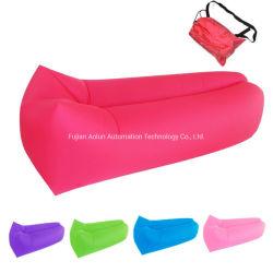Almofada insuflável roxo Lazy Beach Bed enchimento de ar Lazy Bag sofá de Ar