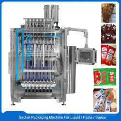 自動アイスキャンデーの蜂蜜のトマトソースの液体の磨き粉の棒のパッキング機械