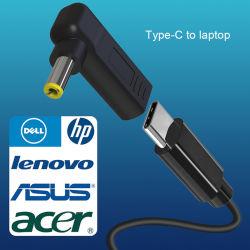 مقبس موصل محول التيار المتردد AC DC الخاص بالكمبيوتر المحمول العام للكمبيوتر الدفتري HP IBM Apple Lenovo Toshiba