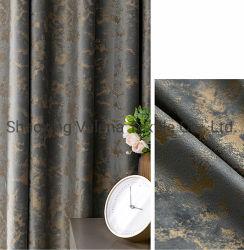 Tecido de poliéster Holland Luxo têxteis tecidos de cortina de veludo Emboss Cola / Tiras de tecido de revestimento de moda Sala Janela Cortina