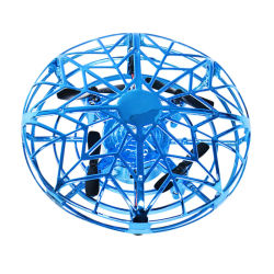 Mini RC Infraed UFO Bourdon Bourdon Quadcopter jouets d'aéronefs d'induction