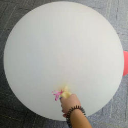 Partei-Latex-Helium-Ballone der riesigen Mattglückwunsch-72inch aufblasbare grosse