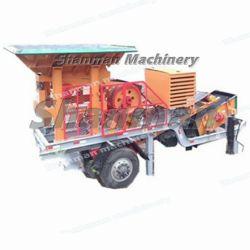 Stone/JAW/Cono/impacto/martillo/ROCK/Minería/Mineral/Trituradora móvil para asfalto/Cantera de granito y piedra caliza/guijarros//trituradora de mineral/oro/máquina de moler/Molino de bolas