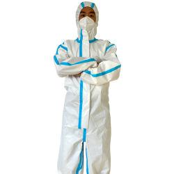 防護服の防護衣機械火の化学防護衣D62のための新しい作られたファブリック