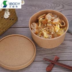 500 ml-1300 ml produzione PLA carta biodegradabile per insalata